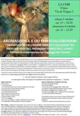 UDINE, LA CEBI Centro Ecobiologico - SEMINARIO 1 @ La Cebi Centro Ecobiologico